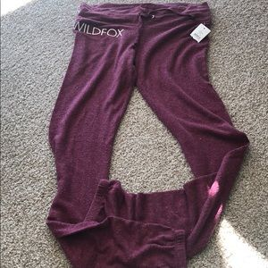 Soft pants from wildfox